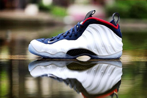 "Nike Air Foamposite One PREMIUM ""Olympic"""