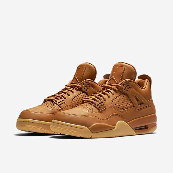 "Nike Air Jordan 4 Premium ""Ginger"""