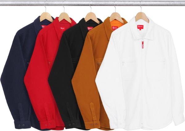 Polartec® Fleece Zip Up Shirt
