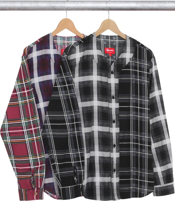 Multi Plaid Flannel Jersey